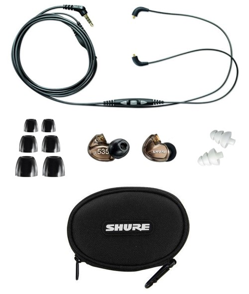 Shure earphone Accessories